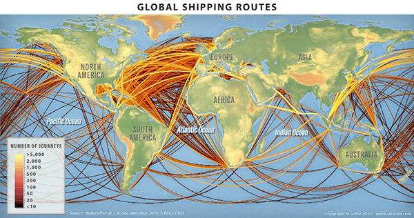 世界海路図 STRATFOR: SummingUp(要するに)